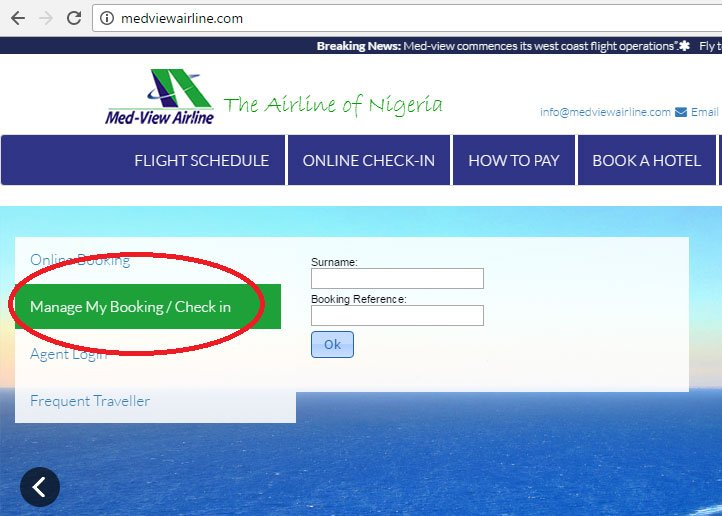 MedView-Airline-Booking-Online-Check-in